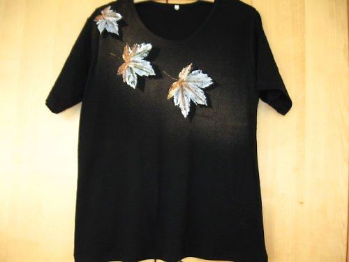 3 XL černé tričko kr.rukáv