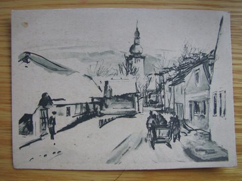 Stará pohlednice. Serie. Heimat.