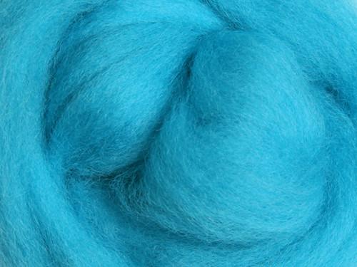 Česanec Corriedale Fluro Blue 20 g