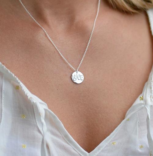 l o v e ... AG náhrdelník