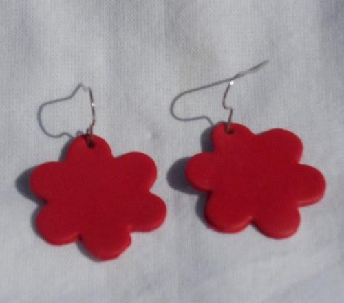 červené kytičky