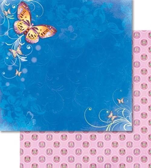 Třpytivý papír - Velký motýl