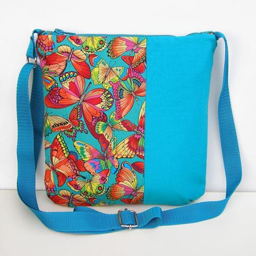 Tyrkysová kabelka, taška
