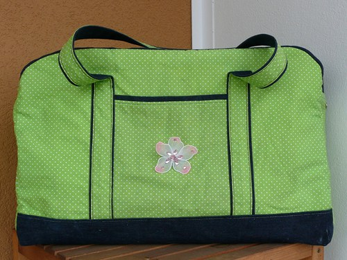 Mademoiselle Paris - cestovní kabelka