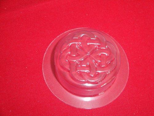 Formička na mýdlo - kolečko s keltským reliéf