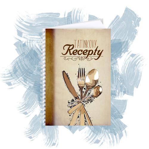 Zápisník na recepty - tatínkovy