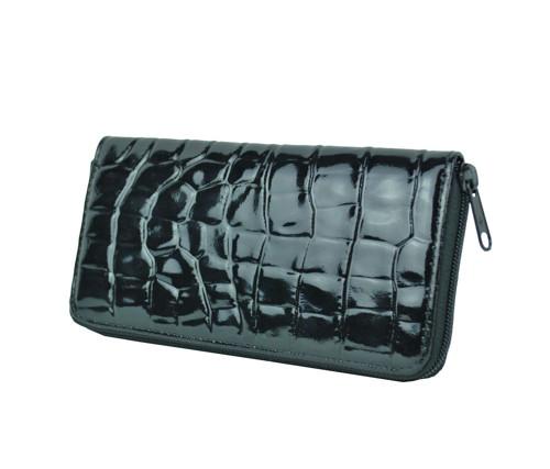 Kožená peňaženka so vzorom hadiny 1c8aaf8b47d