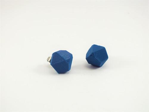 Náušnice krystal green blue