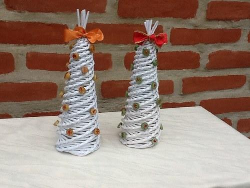 Přineste dárky - vánoční stromek bílý