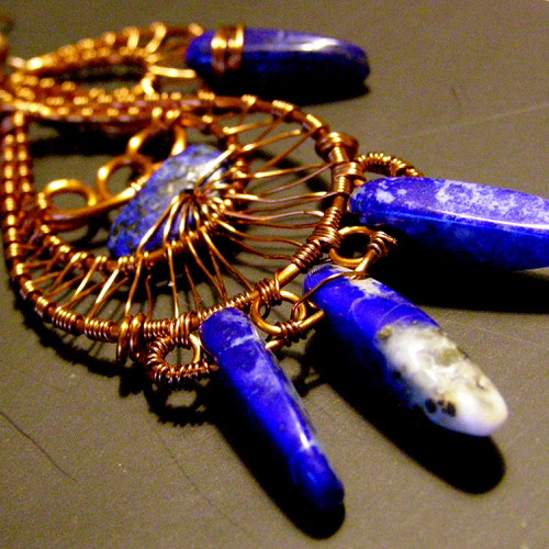 Lapis lazuli a měď