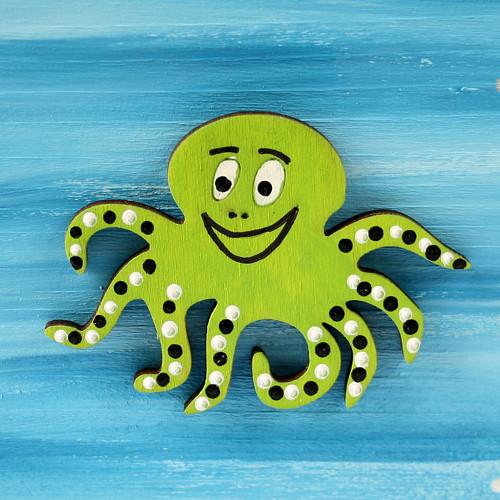 Magnetka střední - chobotnice