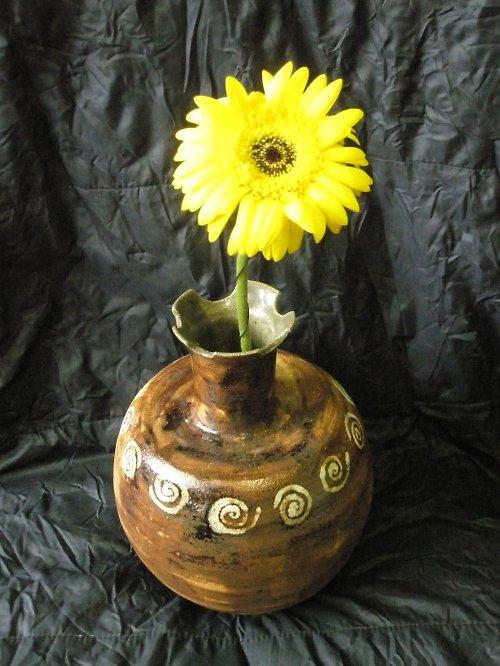 Váza s keltskými spirály!