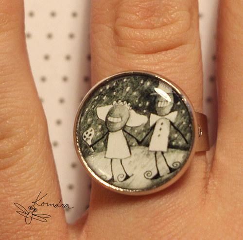Zamilovaní / prsten, prstýnek