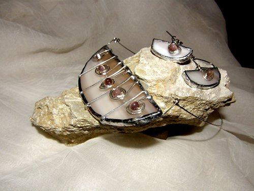 "Medová loď, šperk z cyklu \""Svatební šperk\"""