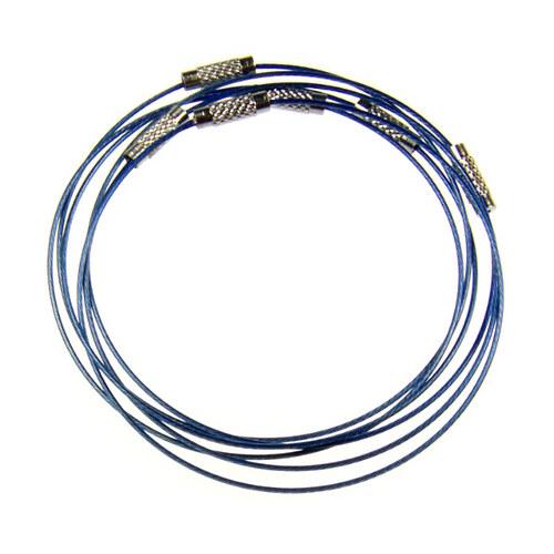Modrá náramková obruč, 1 ks