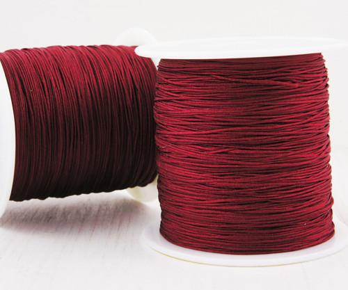 20m 65 22yrd Červená Káva Nylon Kabel Makramé Vlák