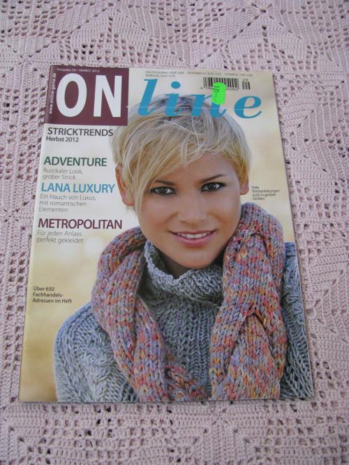 ON line, časopis na pletení