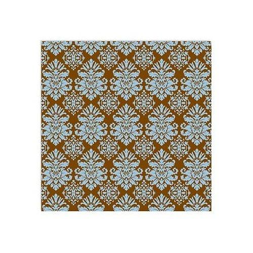 Semišový Scrapbook papír Damask
