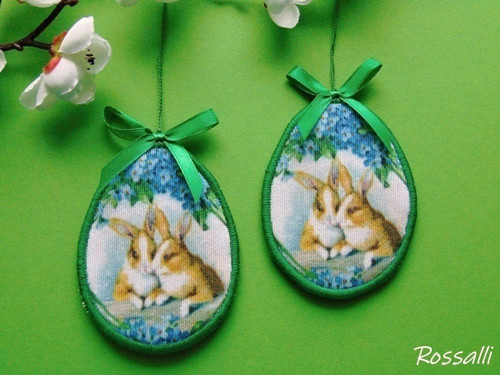 Velikonoční dekorace ... zajíčci
