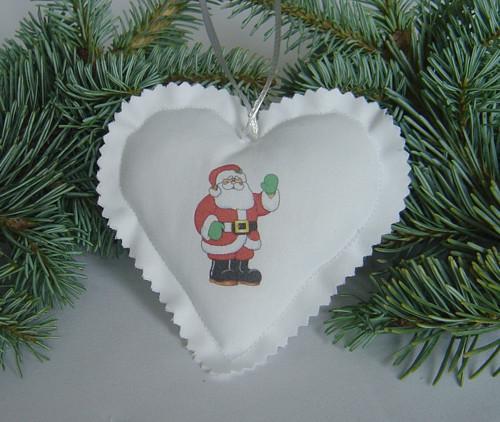 Vánoční srdíčko 7