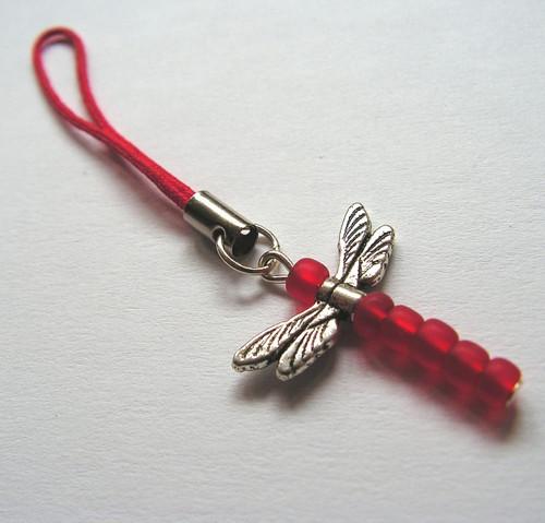 Přívěsek na všelico Vážka červená