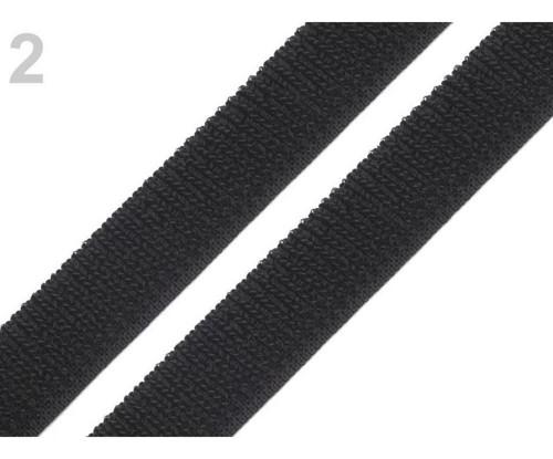 25m Černé Elastické Smyčky Pásky Šířky 20 mm, Such