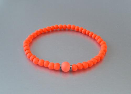 Náramek / Neon oranžový /