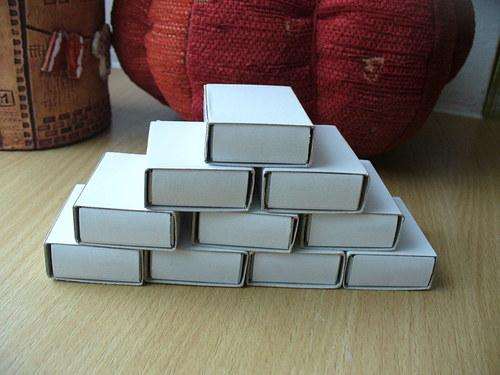 Krabičky - 10 kusů