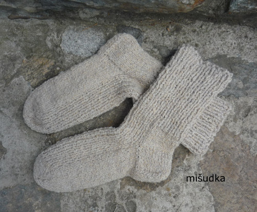 Ponožky jako od maminky - béžové 35