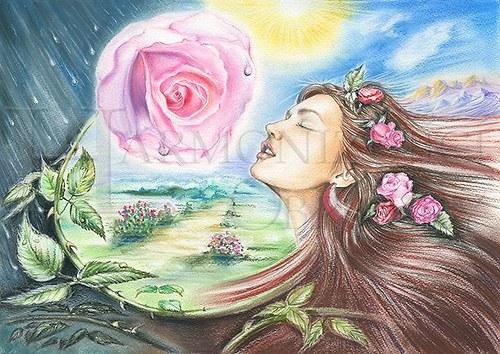 Cesta Růže - formát A4