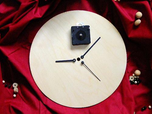 HODINY 15 cm - polotovar i s hodinovým strojkem