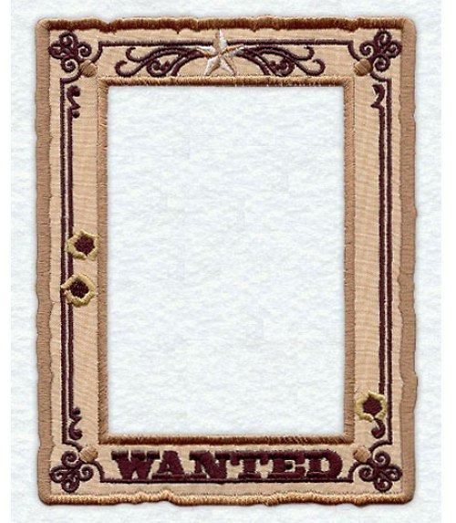 Celovyšitý magnetický rámeček na fotky Wanted