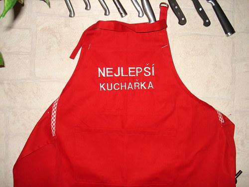 Zástěra -Nejlepší kuchařka