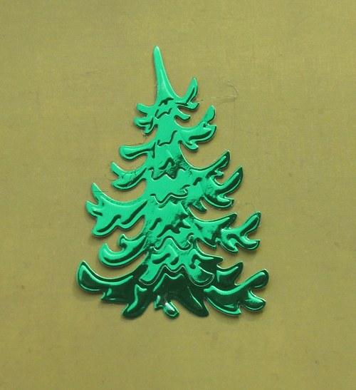 Zelená jedlička lesklá (větší)