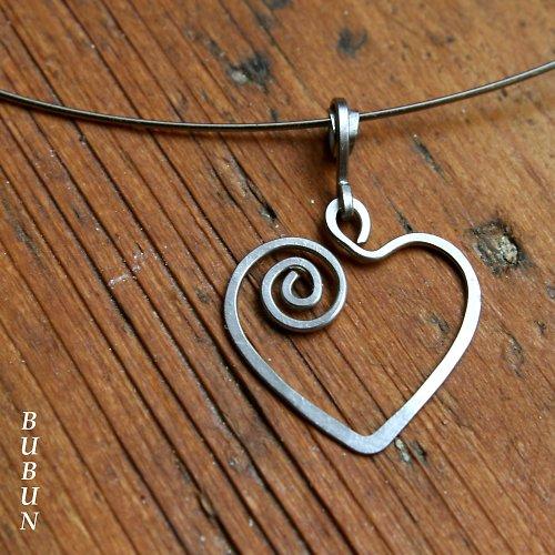Srdcový náhrdelník