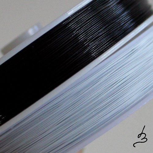 Ocelové lanko bílé 0,38