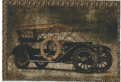 bavlněná látka - panel 8 x 13 cm