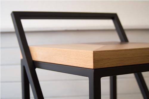 Barová židle Intarsia Chair