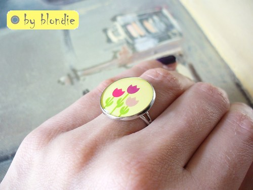 Fanfán Tulipán colour - prsteň
