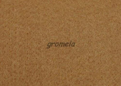 Světle hnědý filc 1,5 mm - 05