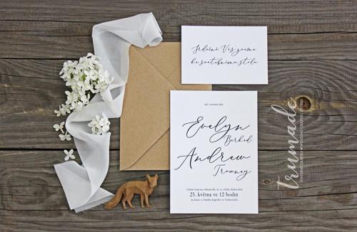 Svatební oznámení - Simplicity