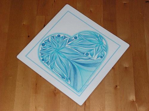 S láskou malované-z lásky ať je darované-sv.modré