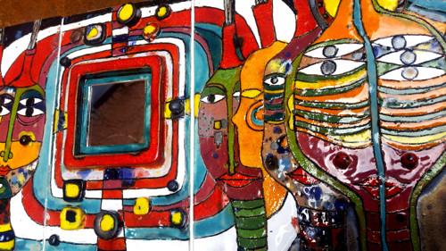 Hundertwasser vešiak