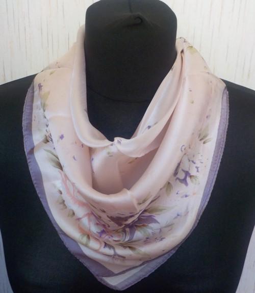 Malý šátek z hedvábí—Květiny 8