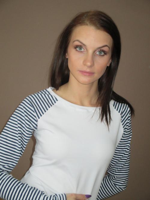dámské triko - bílé s proužkem