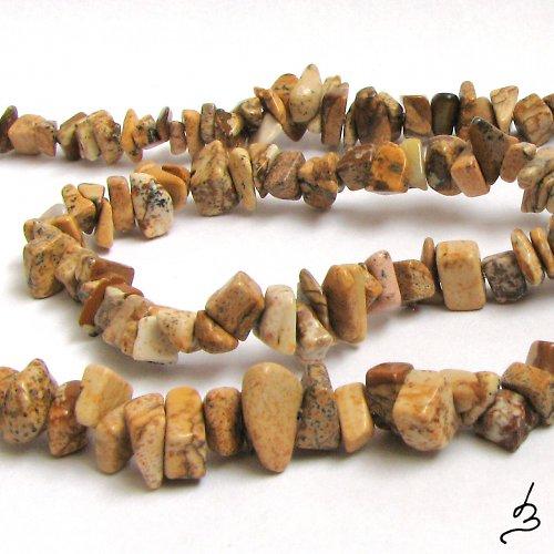 Jaspis pískový - 20 cm návleku