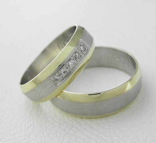 Snubní prsteny č. 54