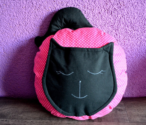 Vonný polštář kočka