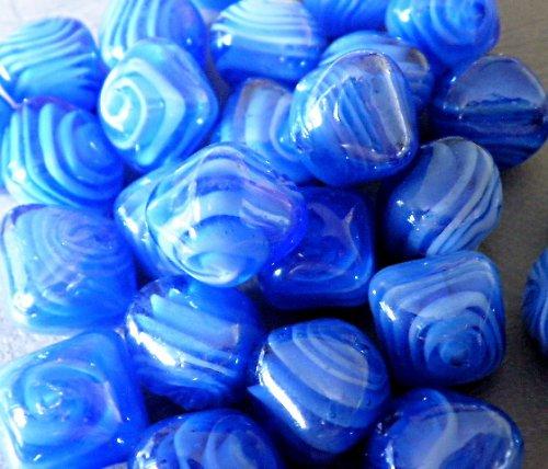 Modrý lampión - 2ks
