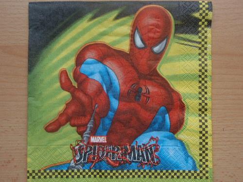 Ubrousek - Spiderman
